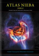atlas, nieba, książka, astronomia