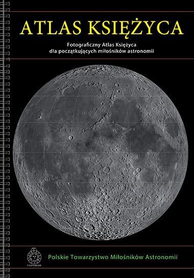 atlas, księżyca, książka, astronomia